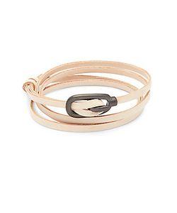 Miansai | Leather Multi-Strand Wrap Bracelet