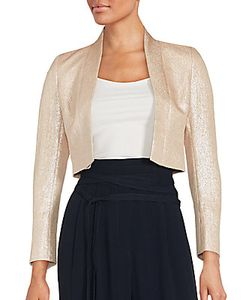 Akris | Long Sleeve Open Front Cropped Jacket