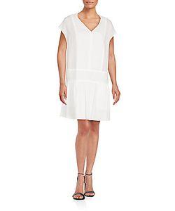 Rag & Bone | Solid Cap Sleeve Cotton Dress