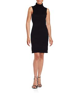 Saks Fifth Avenue | Sleeveless Turtleneck Sheath Dress