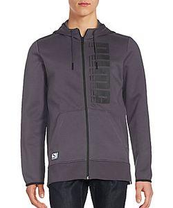 Puma | Long Sleeve Ribbed Hooded Sweatshirt