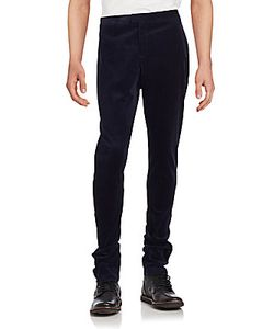 Burberry | Ribbed Solid Cotton Pants