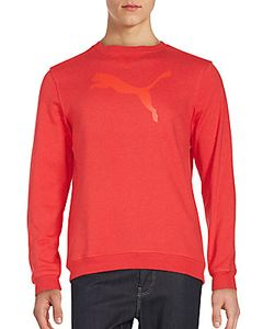 Puma | Long Sleeve Crewneck T-Shirt