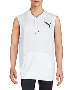 Puma | Kangaroo Pocket Sleeveless Hooded Tee