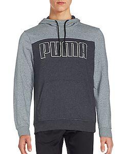 Puma | Long Sleeve Ribbed Hoodie