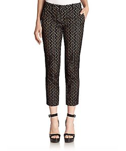 Michael Kors | Cropped Eyelet Pants