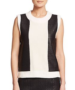 Raoul | Knit Cable-Panel Tank