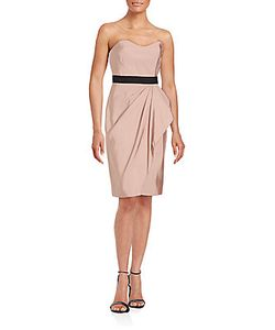 J. Mendel   Bustier Silk Sheath Dress