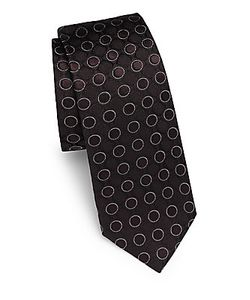 Dolce & Gabbana | Geometric-Pattern Silk Tie