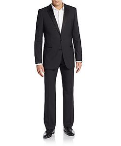 Hugo Hugo Boss | Aikin/Hollo Regular-Fit Virgin Wool-Blend Tuxedo