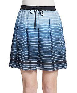 Vince   Ombre Stripe Skirt