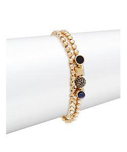 Eddie Borgo | Crystal Pearl And Onyx Wrap Bracelet