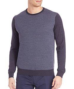 Corneliani | Textured Wool Sweater