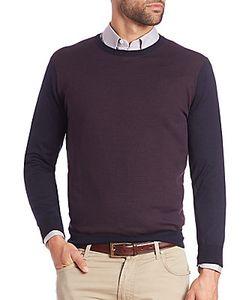 Corneliani | Colorblock Wool Sweater