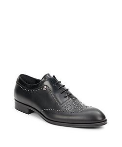 Roberto Cavalli | Riveted Plain Toe Derby