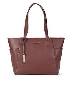 Vince Camuto | Trapazoid Leather Tote