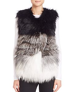Meteo By Yves Salomon | Nuance Fox Fur Vest