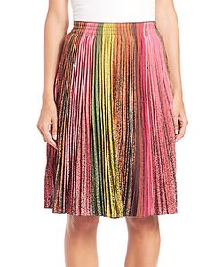Akris | Silk Crepe Wind Turbine Plisseacute Skirt