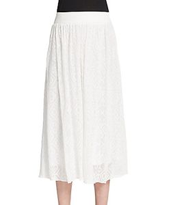 Tess Giberson | Needle-Point Voile A-Line Skirt