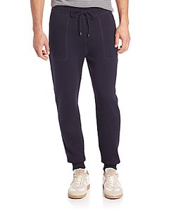 Michael Kors | Plaited Waffle-Knit Wool Cotton Pants