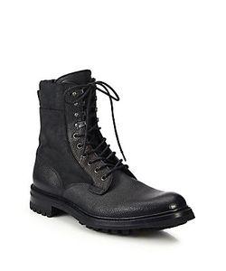 Rag & Bone | Spencer Leather Commando Boots