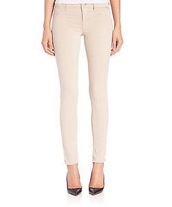 J Brand | Luxe Sateen Anja Ankle Cuff Jeans