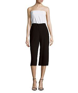 Alice + Olivia | Strapless Cropped Jumpsuit