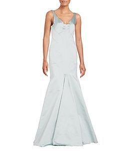 J. Mendel | Modified V-Neck Mermaid Gown