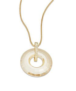 SWAROVSKI | Crystal Loop Pendant Necklace
