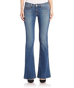 L'agence | Elysee Low-Rise Flared Jeans