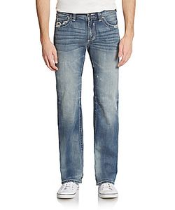 Affliction | Cooper Embroidered Pocket Jeans