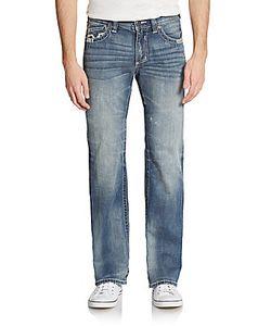 Affliction   Cooper Embroidered Pocket Jeans