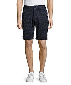 Slate And Stone | Madison Cotton-Blend Shorts