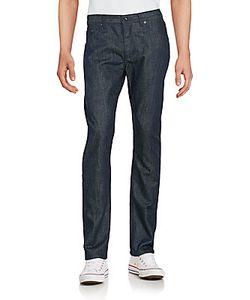 Raleigh Denim | Jones Fleck Textured Cotton Jeans