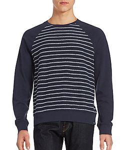 AG Adriano Goldschmied | Striped Long Sleeve Pullover