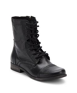 Steve Madden | Lace-Up Combat Boots