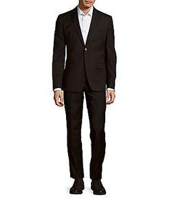 Versace | Pure Woolen Jacket Pants Set