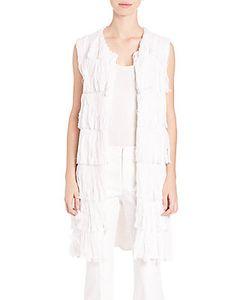 Tess Giberson | Cotton Knit Fringe Vest