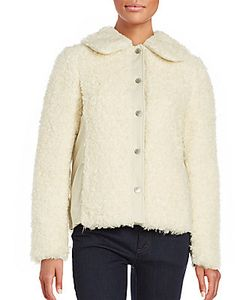 See by Chloé | Faux Fur Fluffy Coat