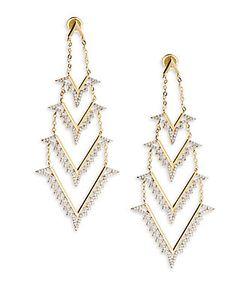 Noir   Opal Drop Earrings