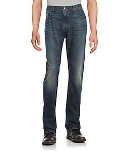 Raleigh Denim | Alexander Cotton Five-Pocket Jeans
