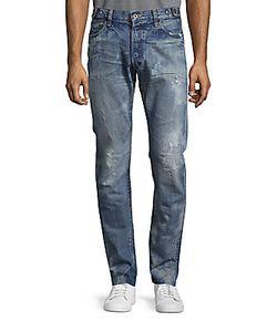 Prps | West Elk Distressed Straight Leg Jeans