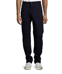 Raleigh Denim | Alexander Five-Pocket Cotton Pants