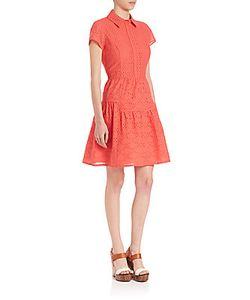 Diane von Furstenberg | Skylar Cotton Eyelet Dress