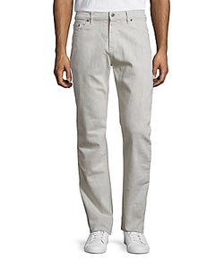 Raleigh Denim | Cotton Blend Five-Pocket Pants