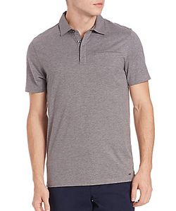Michael Kors | Cotton Silk Welt Pocket Polo