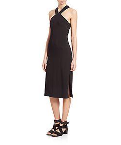 Rag & Bone | Rachel Cutout Halter Dress