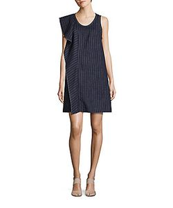 3.1 Phillip Lim | Pinstripe A-Line Dress