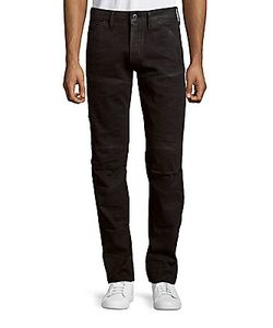 G-Star Raw | Cotton-Blend Faded Pants