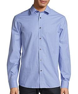Michael Kors | Tailored-Fit Check Gingham Shirt